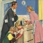 Familienleben 1955